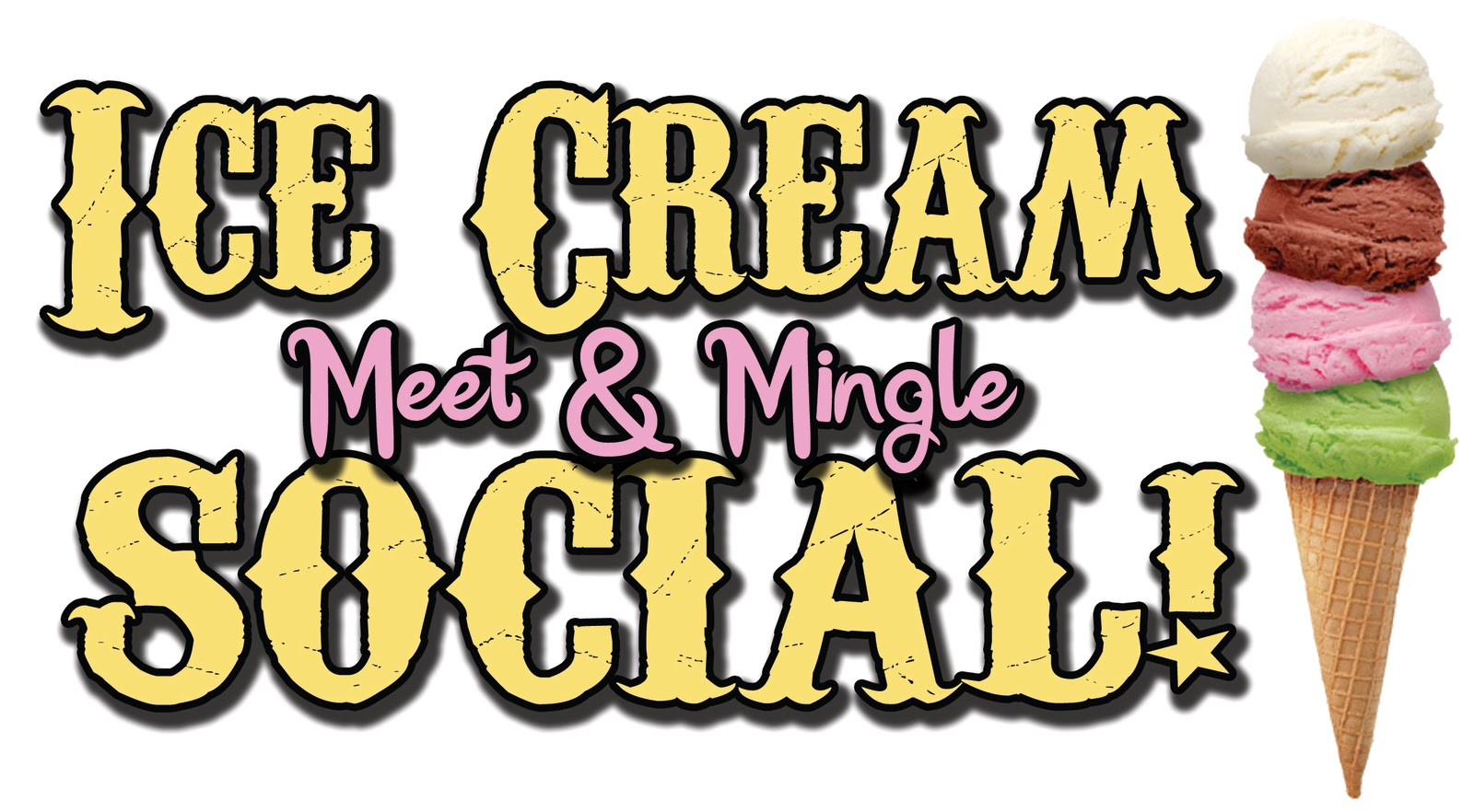 Image result for ice cream social clip art